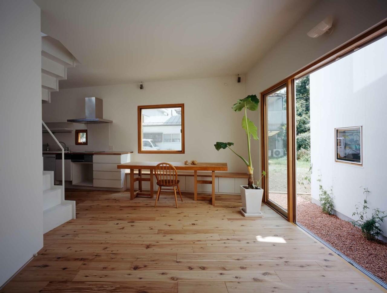 Gallery of inside house outside house takeshi hosaka for House inside photos