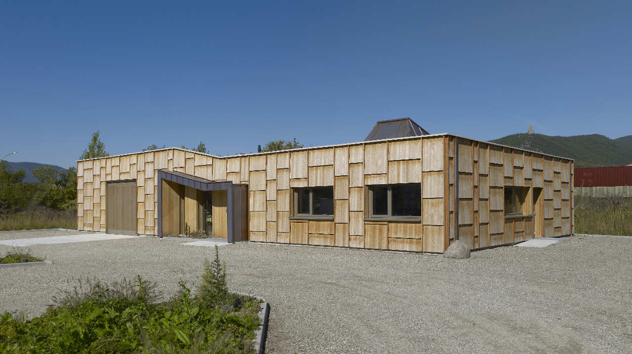 Wood House in Châtenois / Atelier d.org, © Stéphane Spach