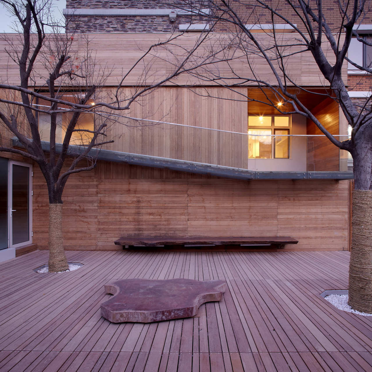 Meng House / Tao Lei, © Tao Lei