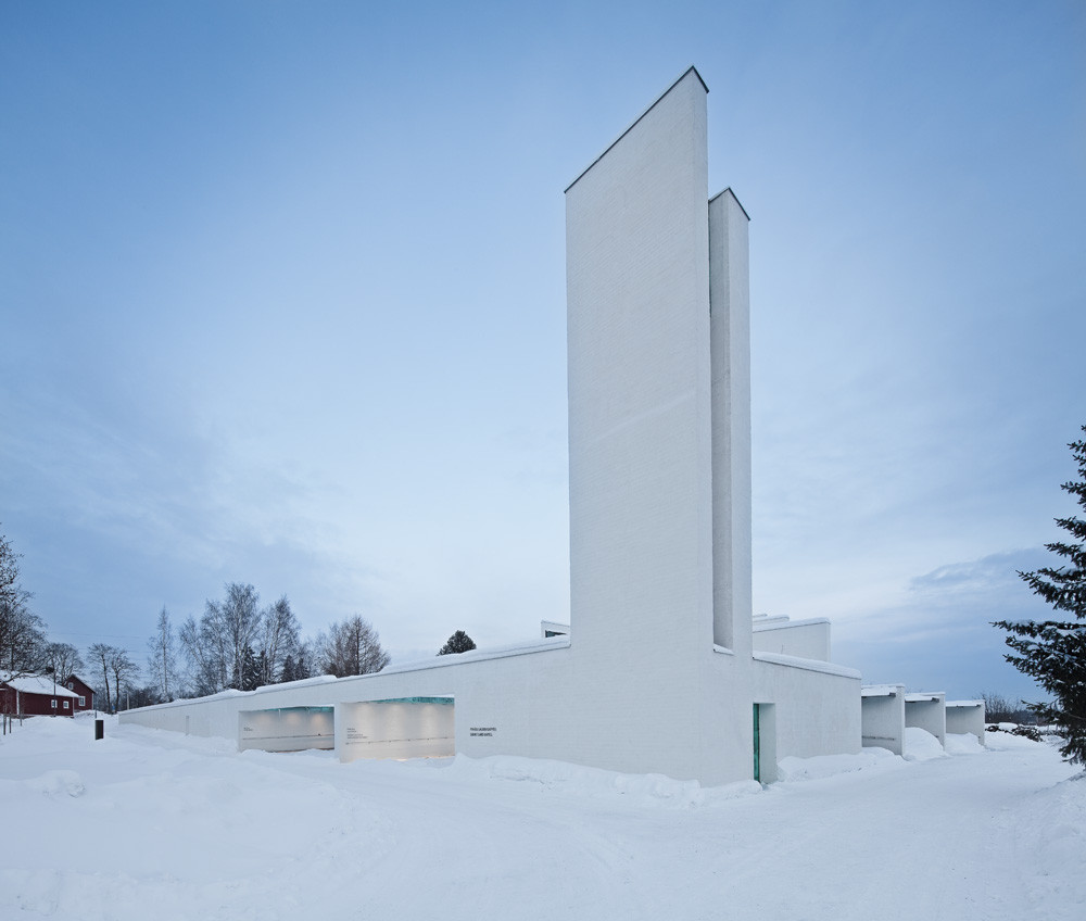 Chapel of St.Lawrence / Avanto Architects, Ville Hara and Anu Puustinen, © Kuvio