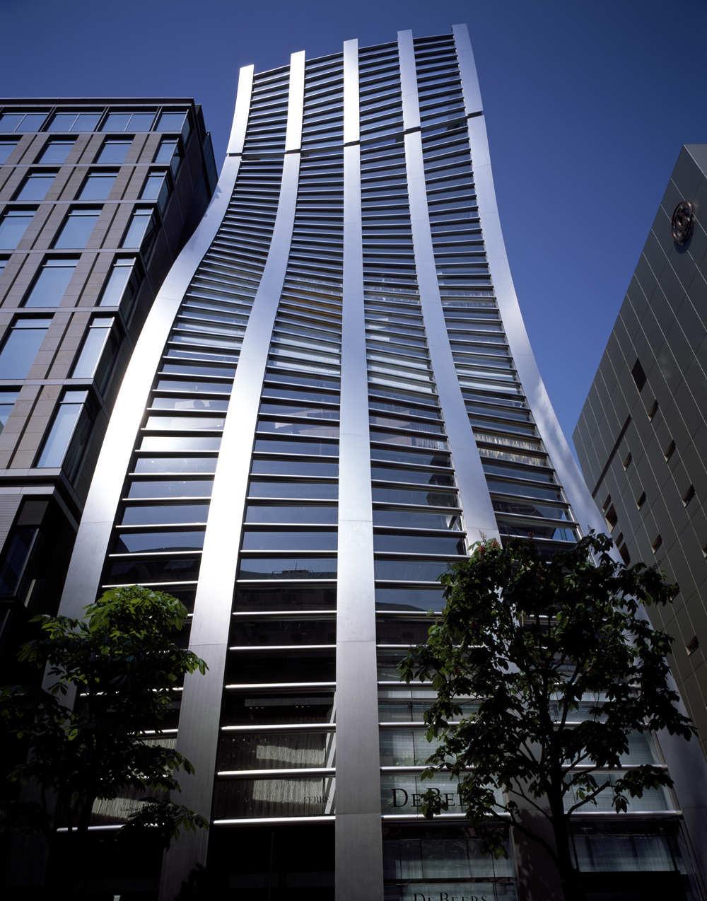 De Beers Ginza Building / Jun Mitsui & Associates Architects, © Naoomi Kurozumi