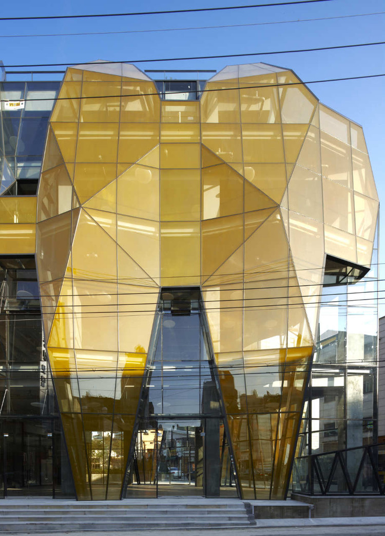 The Yellow Diamond / Unsangdong Architects + Jun Mitsui & Associates Architects, Courtesy of Jun Mitsui & Associates Architects + Unsangdong Architects