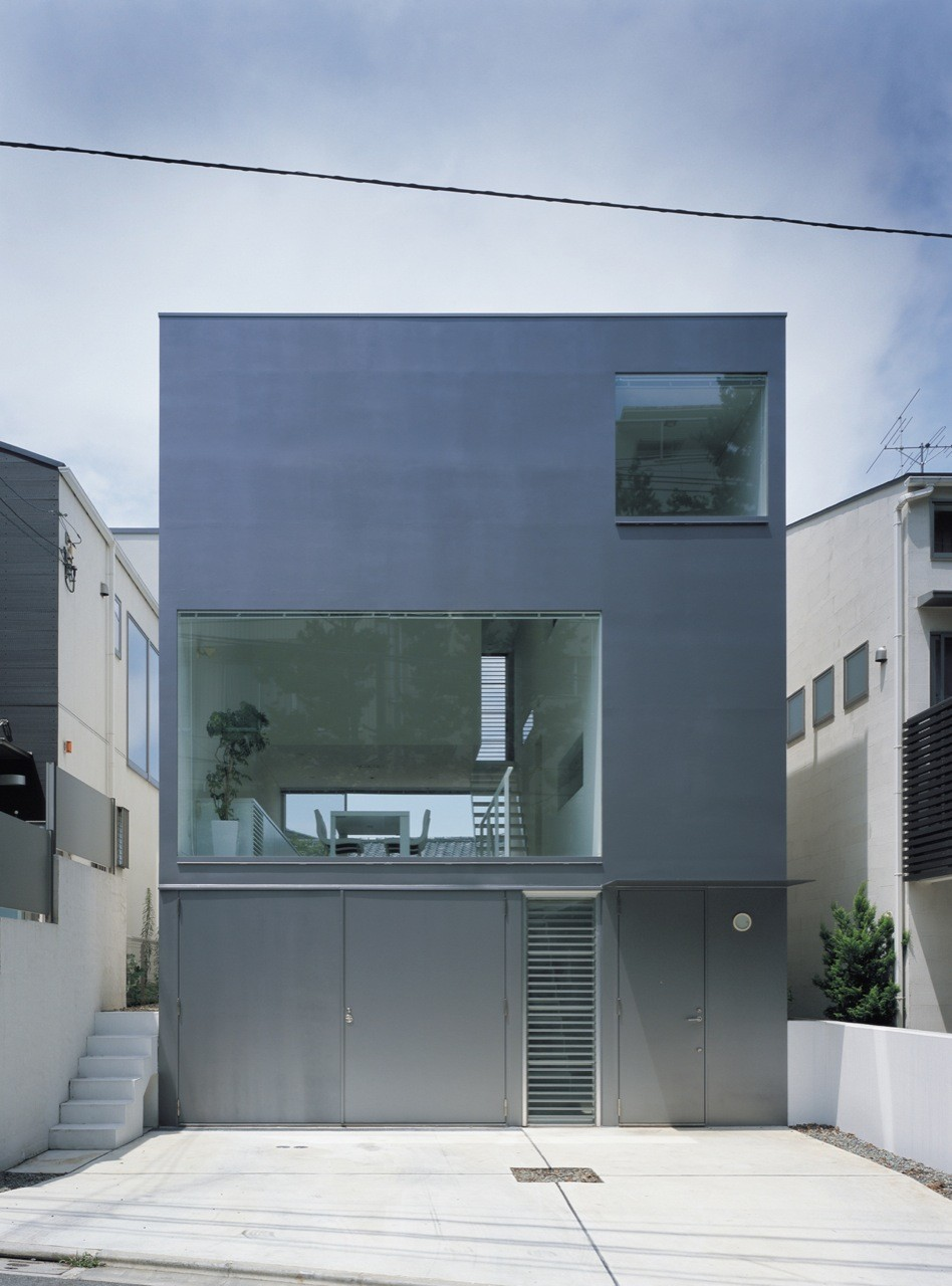 Industrial Designer House  Koji Tsutsui Architect  Associates - Industrial home designs