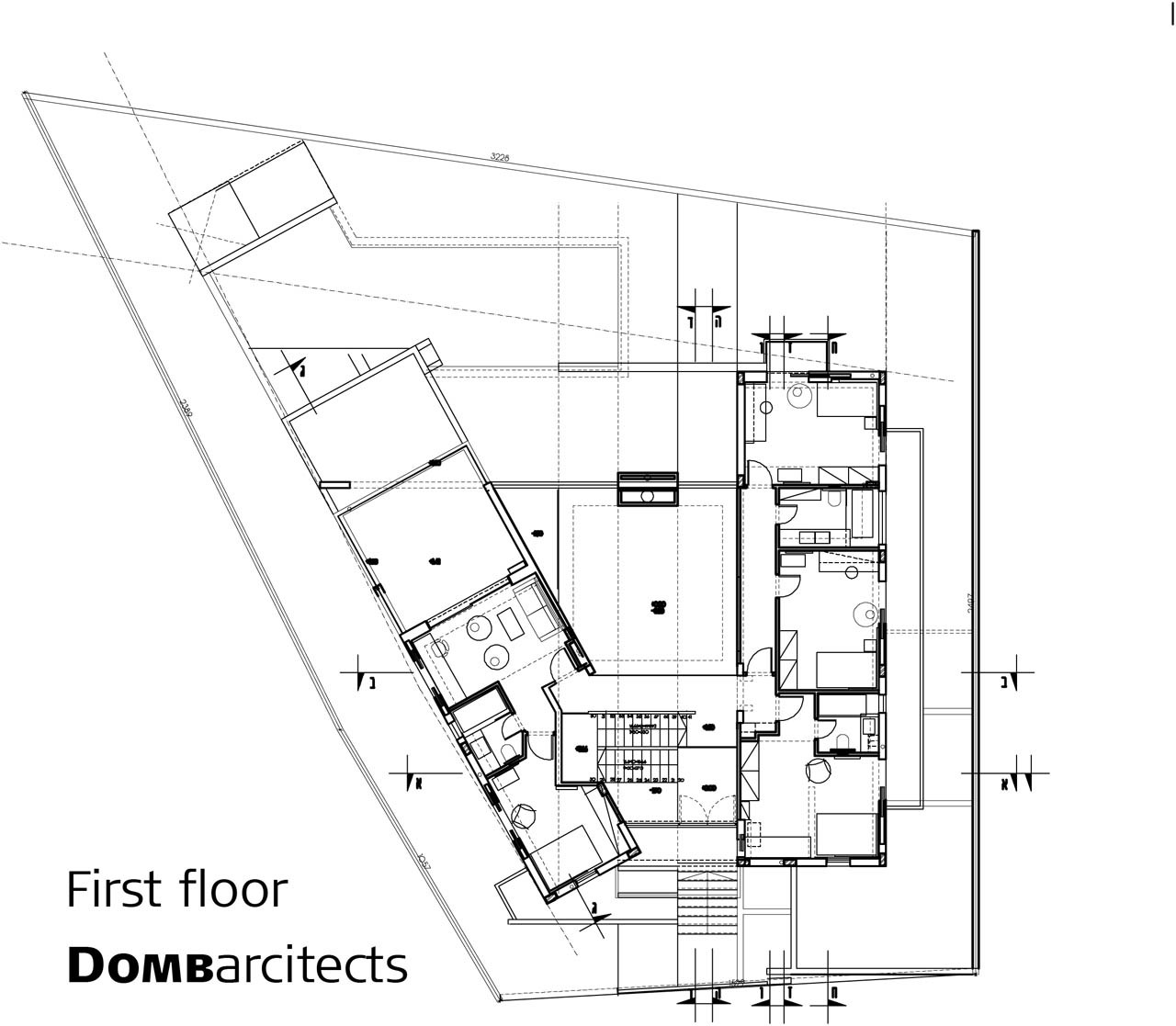Gallery Of Dg House Domb Architects 15