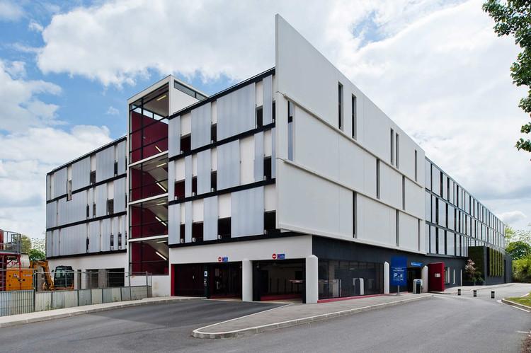 Parking Sucy En Brie / Agence Carbonnet Architectes  + IOSIS Infrastructure, © Antoine Huot