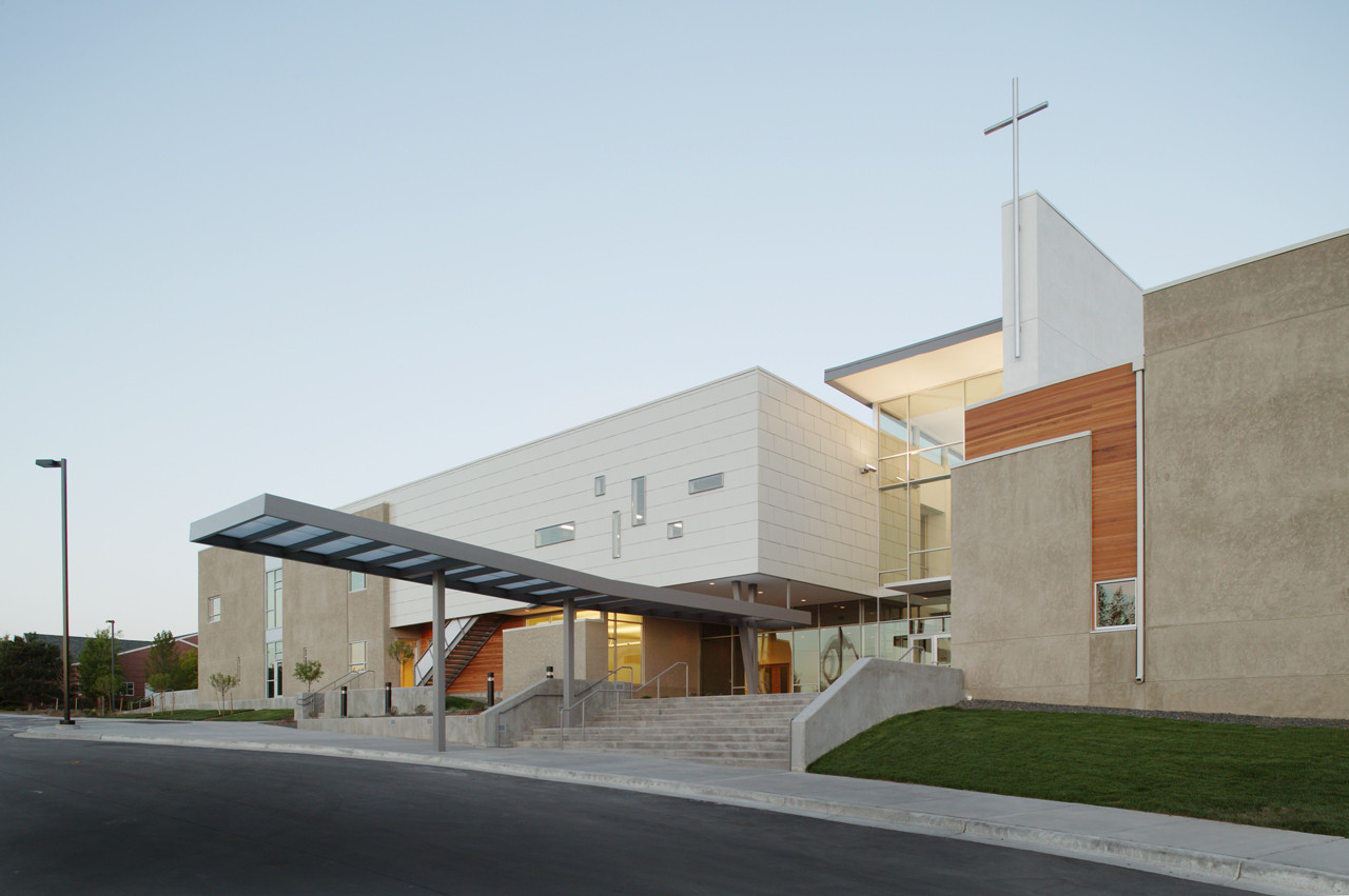 Littleton Church Of Christ Semple Brown Design Archdaily