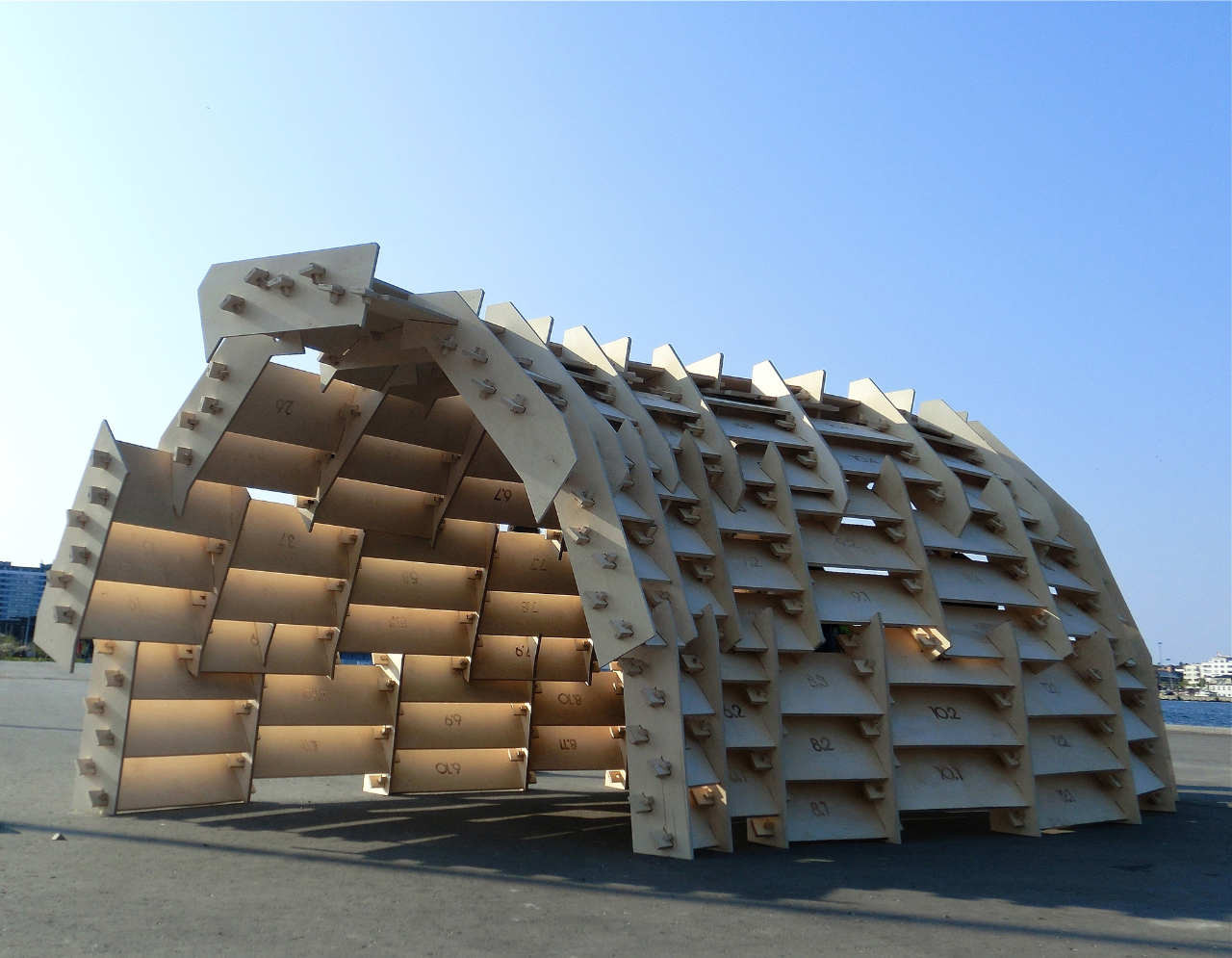 Gallery of aero pavilion department for architecture for Technology architecture design