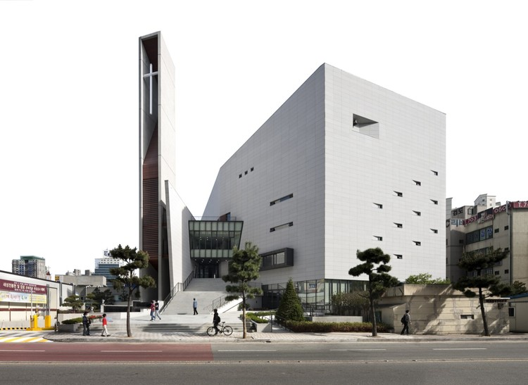 Onnuri Methodist Church / JUNGLIM Architecture, © Namgoong Sun