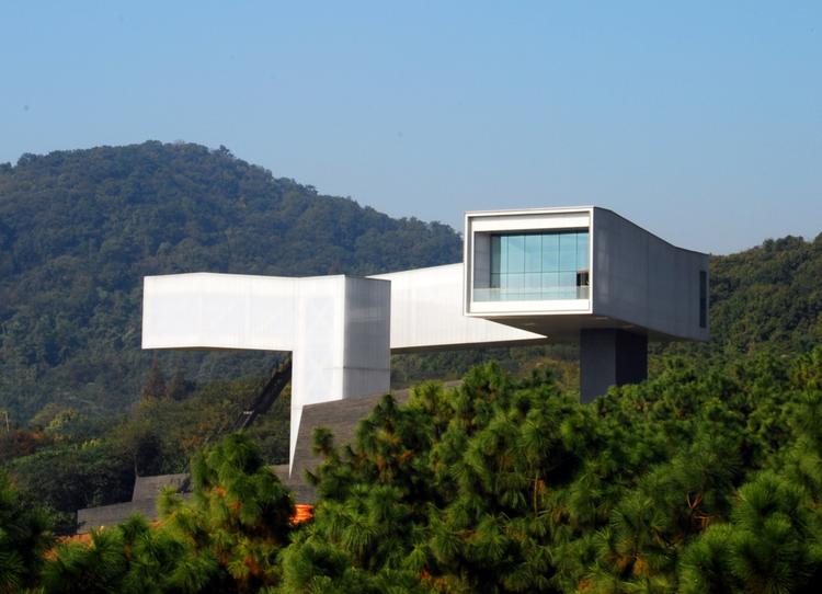 Museo de Arte Nanjing Sifang / Steven Holl Architects, © Li Hu