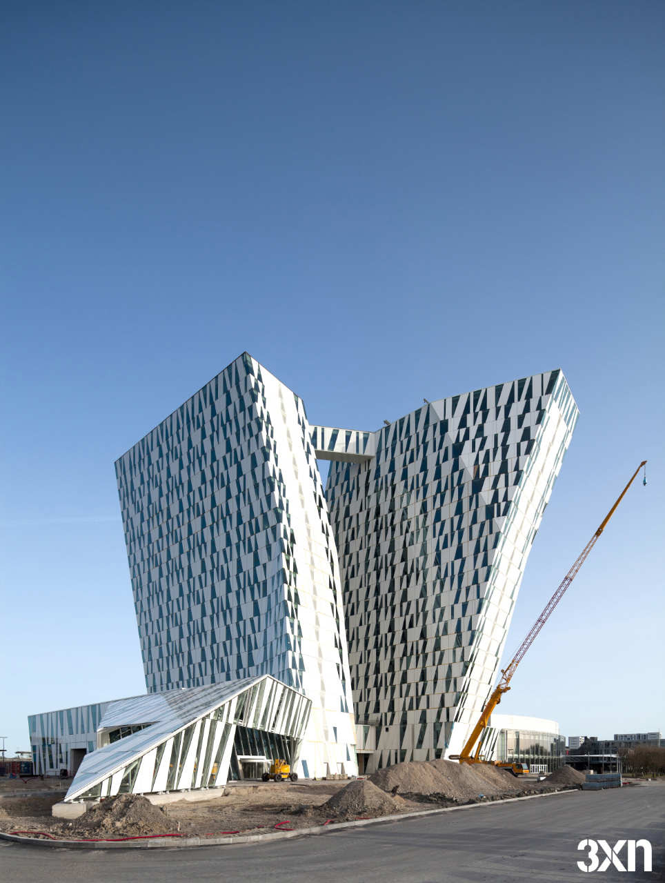 Bella Sky Hotel / 3XN Architects, © Adam Mørk