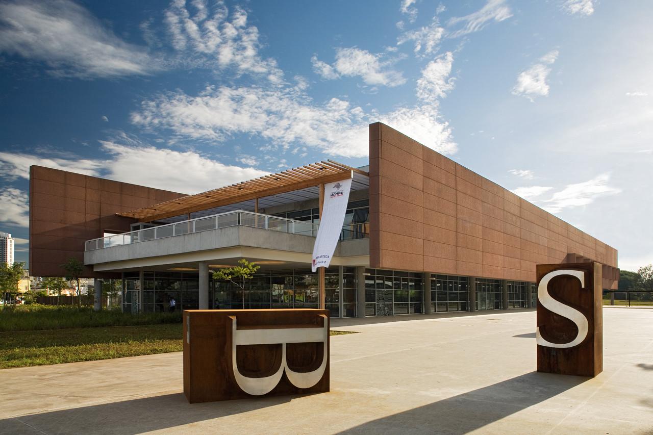São Paulo Library / Aflalo and Gasperini Architects, © Daniel Ducci