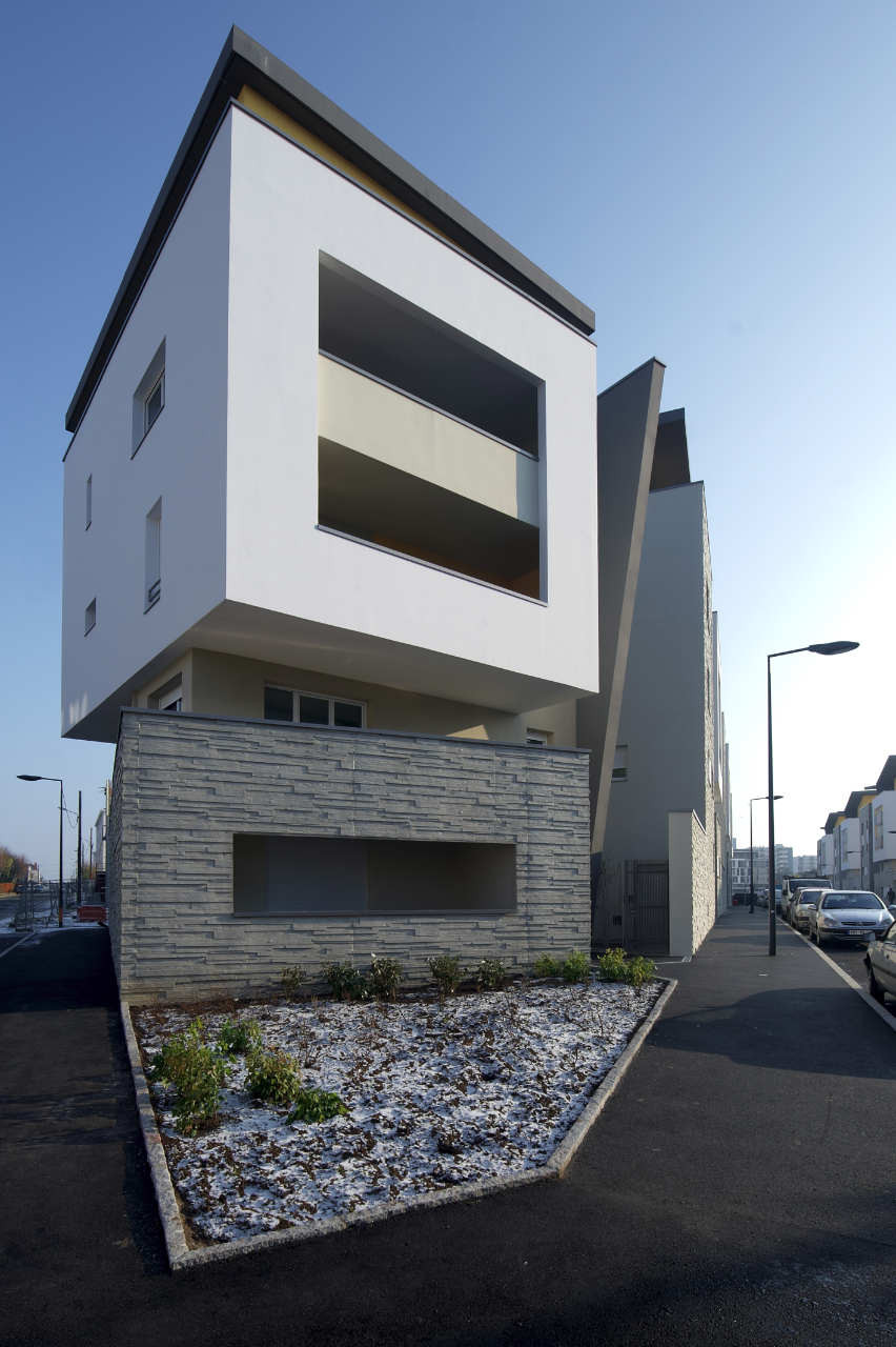 Social Housing in Angers / Studio Bellecour Architects, © Philippe Caumes