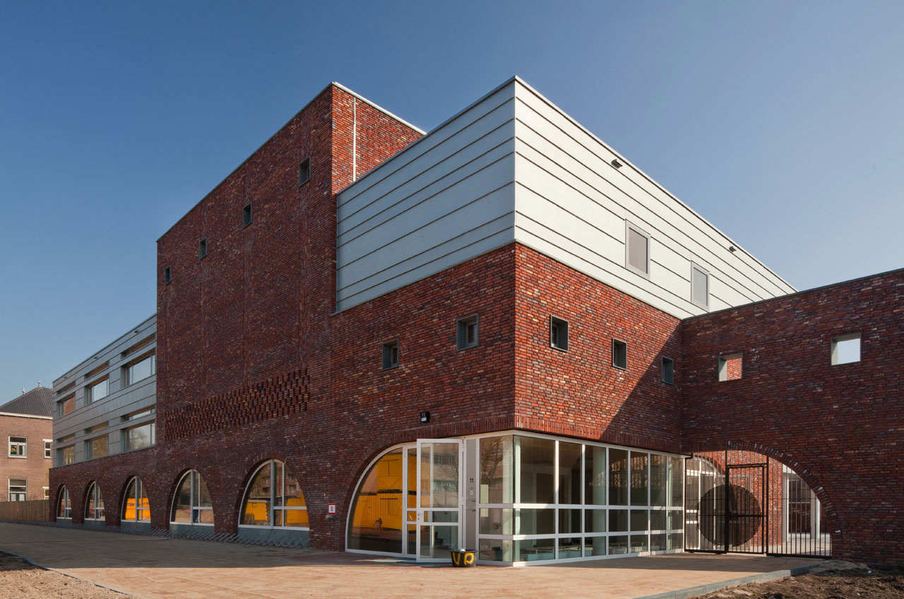 Bonifacius School / FARO Architecten, © Hans Peter Föllmi