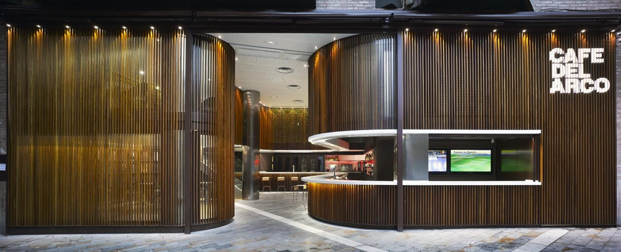 Café del Arco / Clavel Arquitectos, © David Frutos Ruiz