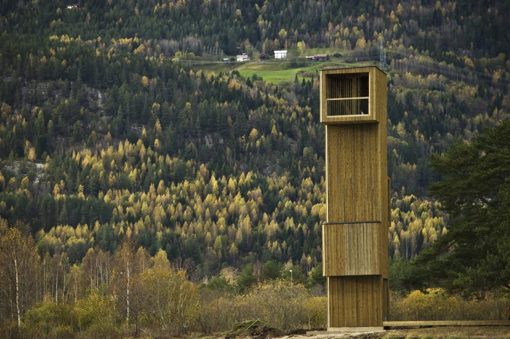 Torre Mirador en Seljord / Rintala Eggertsson Architects, © Dag Jenssen