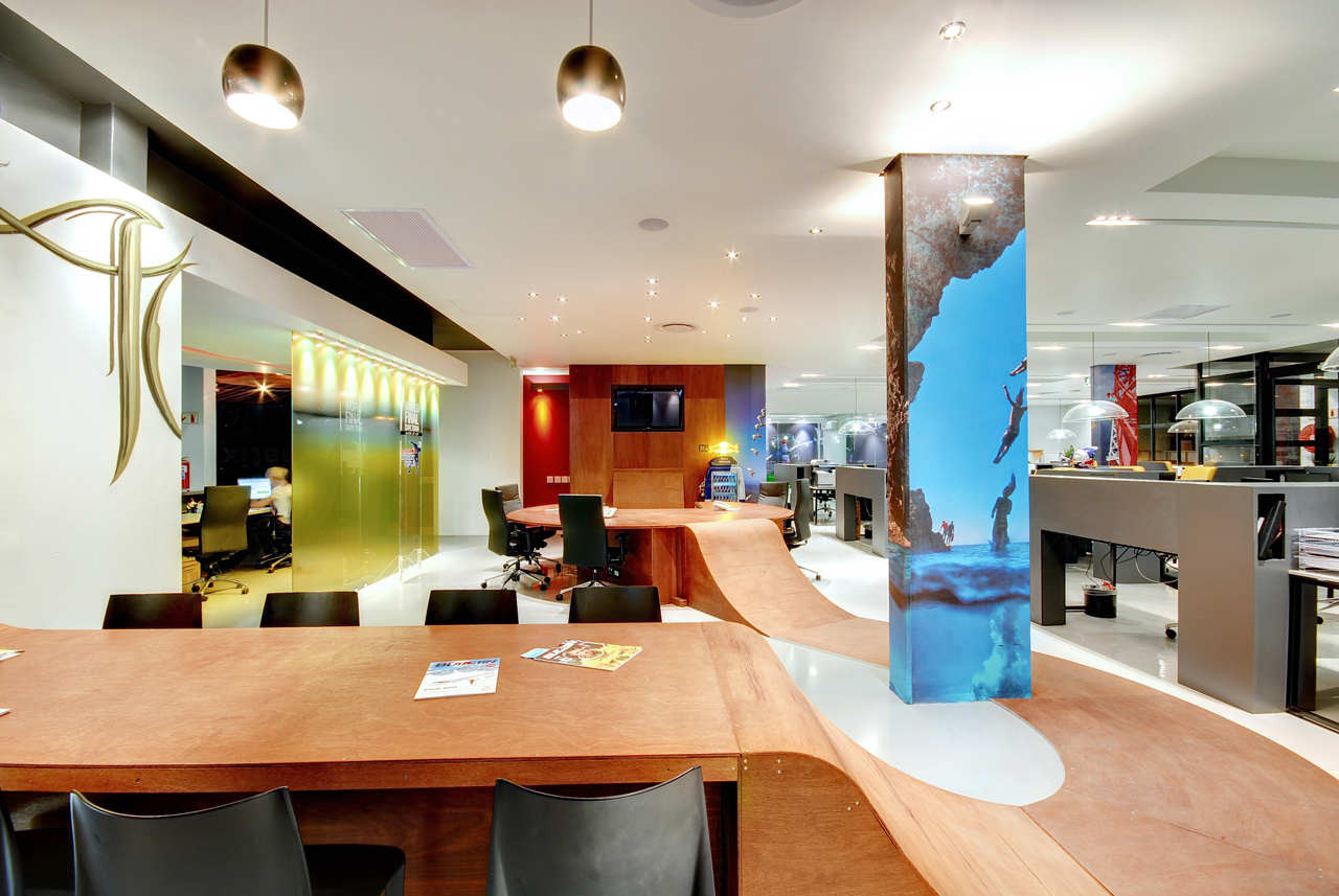 Red Bull's Cape Town Office / COA, © COA – Architecture and Design
