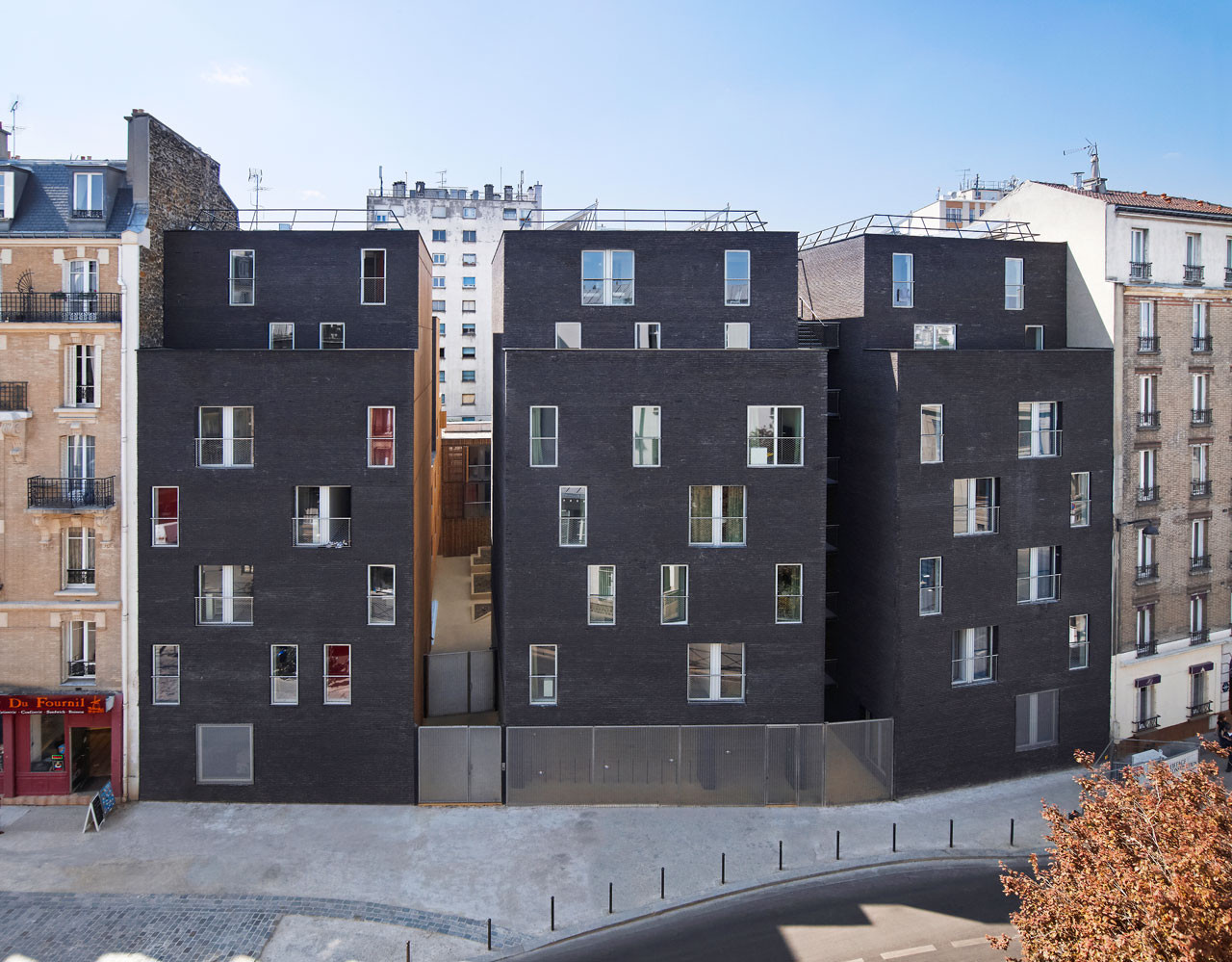 Student residence in paris lan architecture archdaily for Architecture student