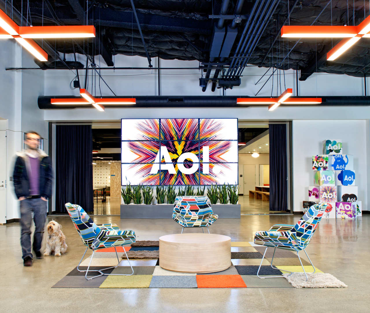 AOL Offices / Studio O + A, © Jasper Sanidad