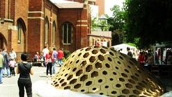 Hexigloo Pavilion / Tudor Cosmatu, Irina Bogdan, Andrei Raducanu