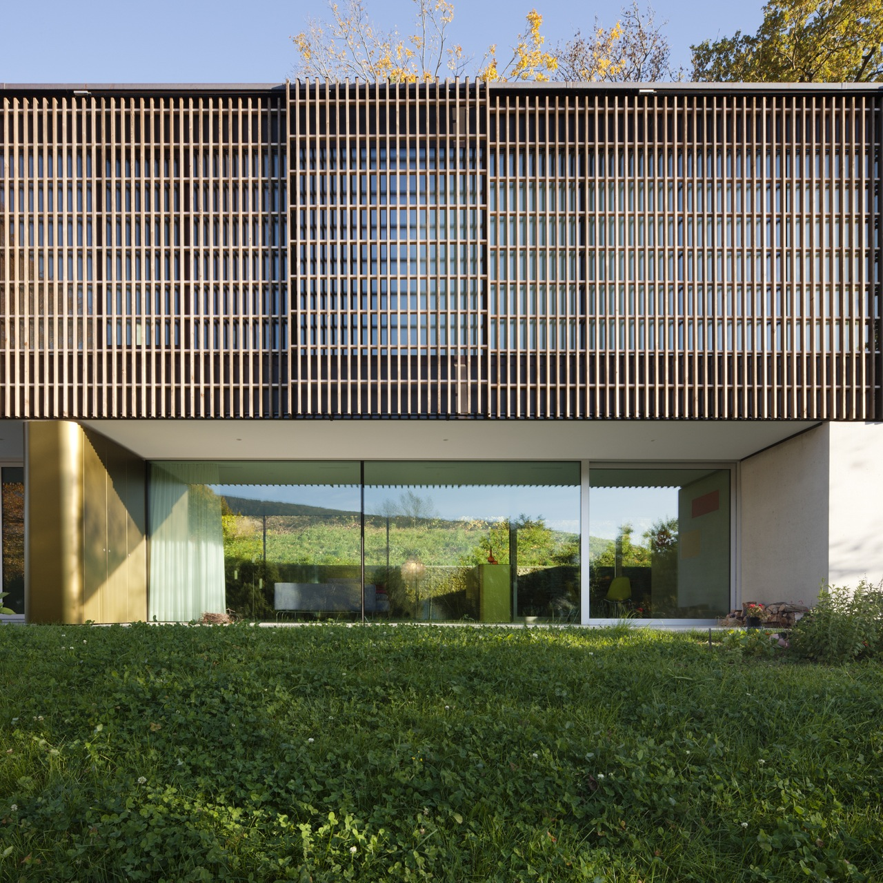 Single House Lake of Biel / bauzeit architekten, © Yves Andre
