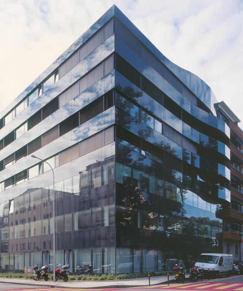 Corner Building / meier + associés architectes, © Jean-Michel Landecy