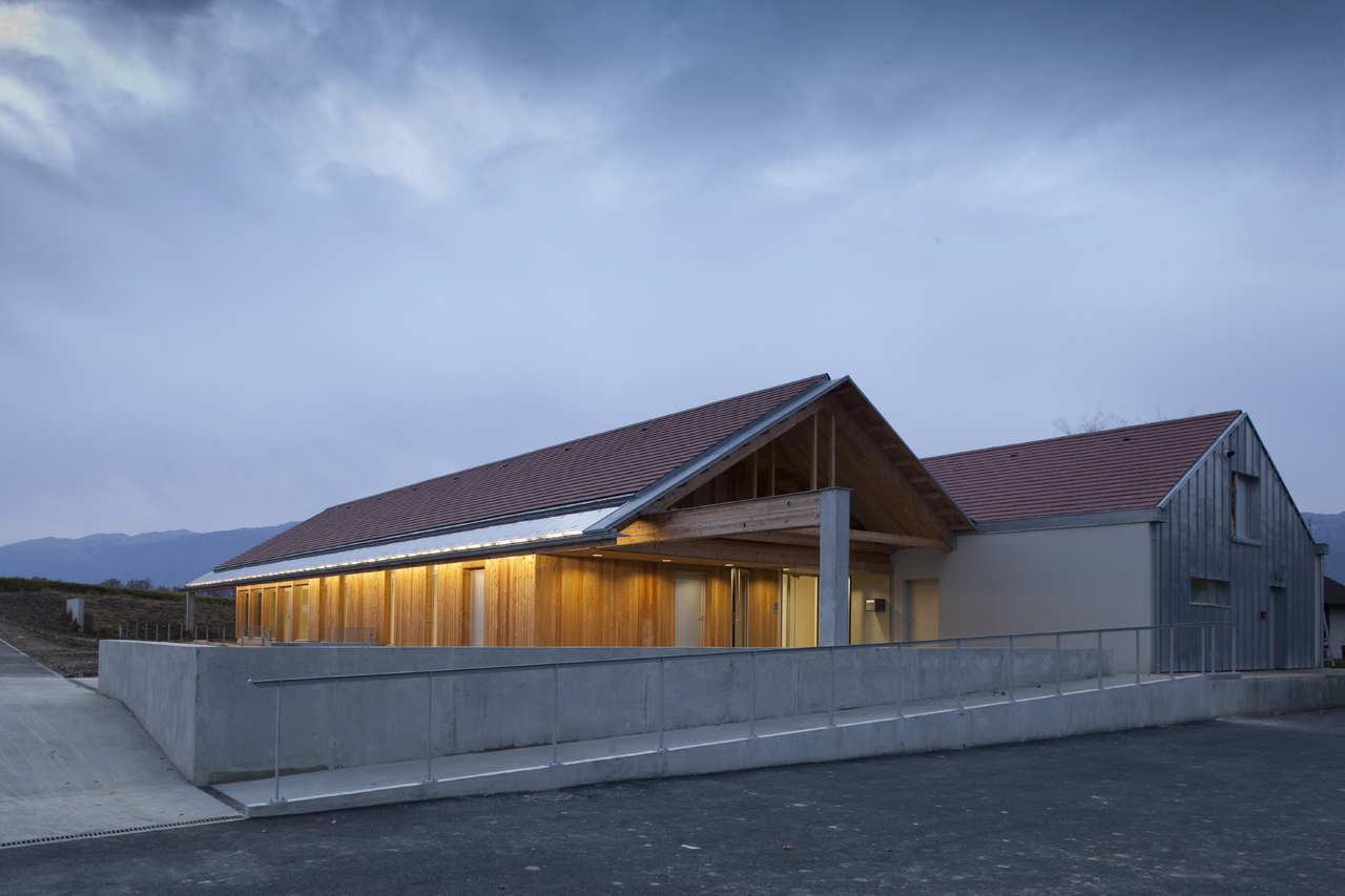 Early Childhood Center / Clermont Architectes, © Daniel Osso
