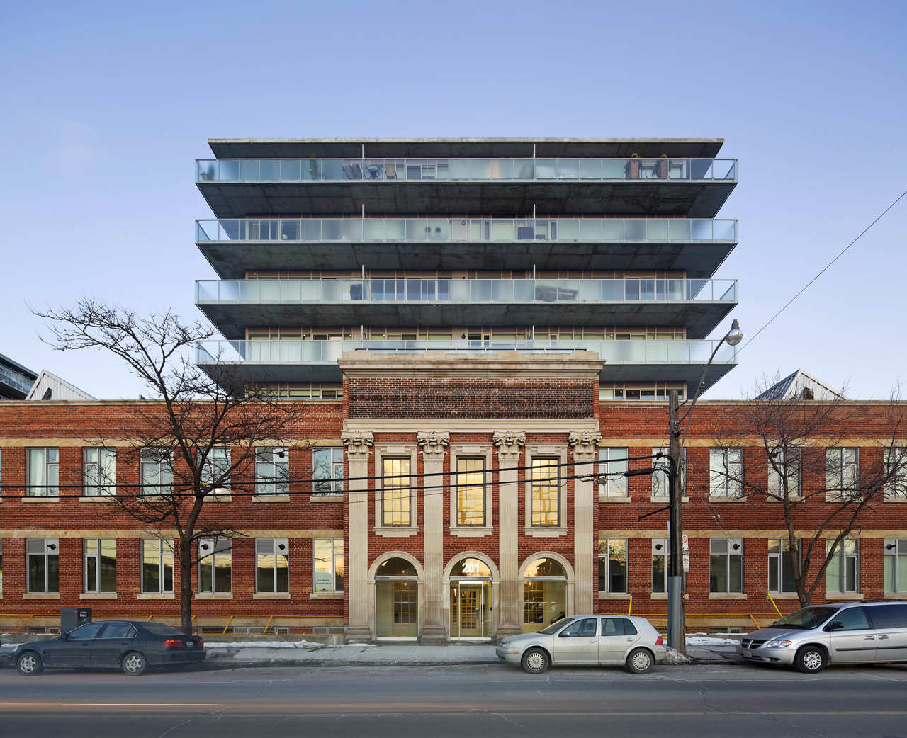 The Printing Factory Lofts / Montgomery Sisam Architects, © Tom Arban