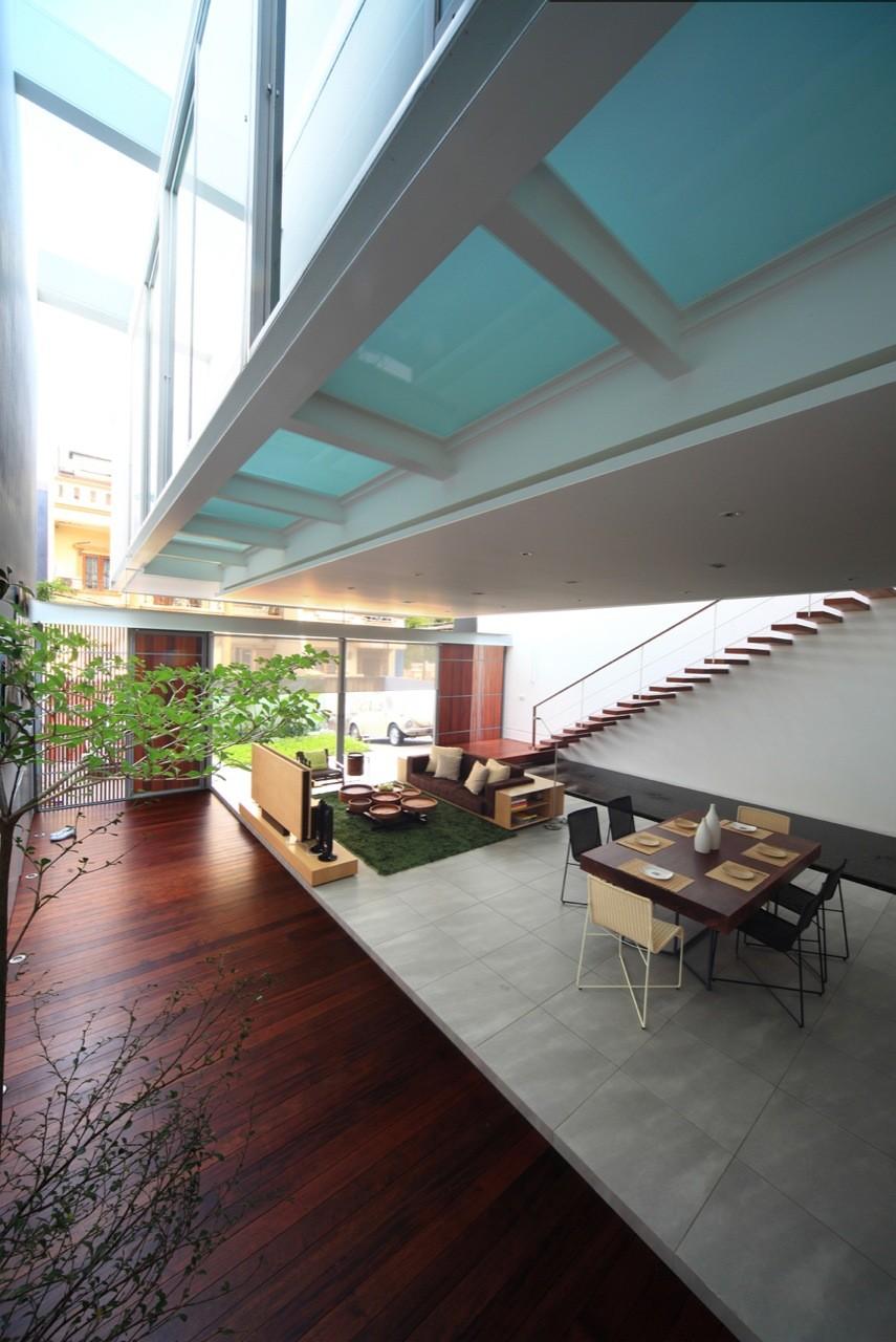 Satu House / Chrystalline Artchitect, © William Sebastian