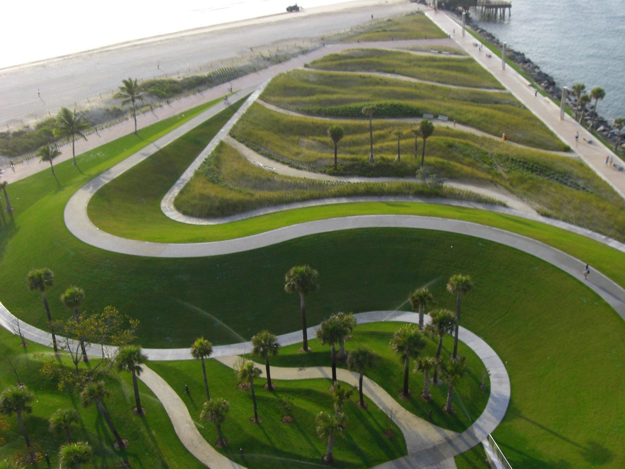 Gallery of south pointe park hargreaves associates 6 Architect florida