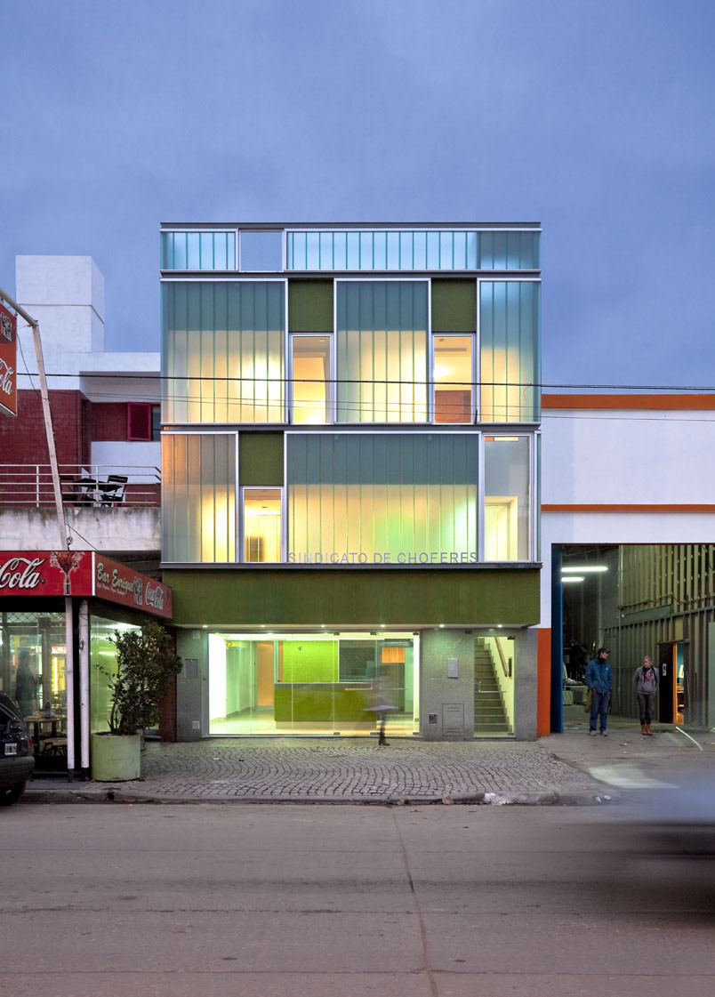 Transportation Workers Union Headquarters / Franco Piccini and Carlos A. Piccini, © Arq. Walter G. Salcedo