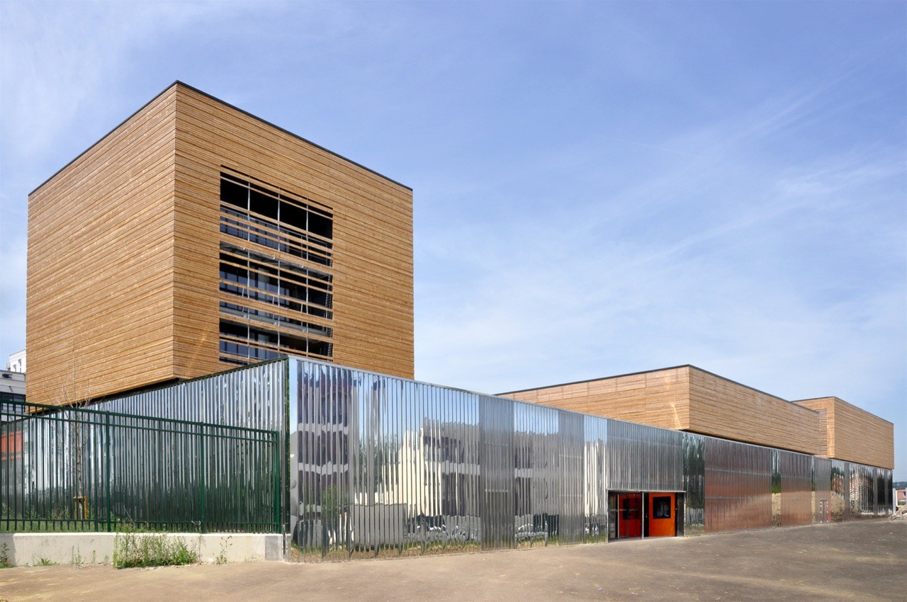 College Sports Hall / archi5, © Fabien Terreaux