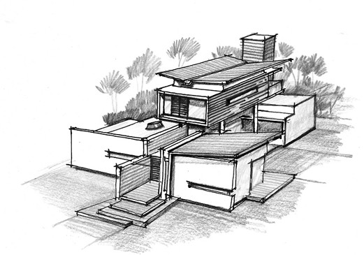 Gallery Of House Of Pavilions Architecture Paradigm