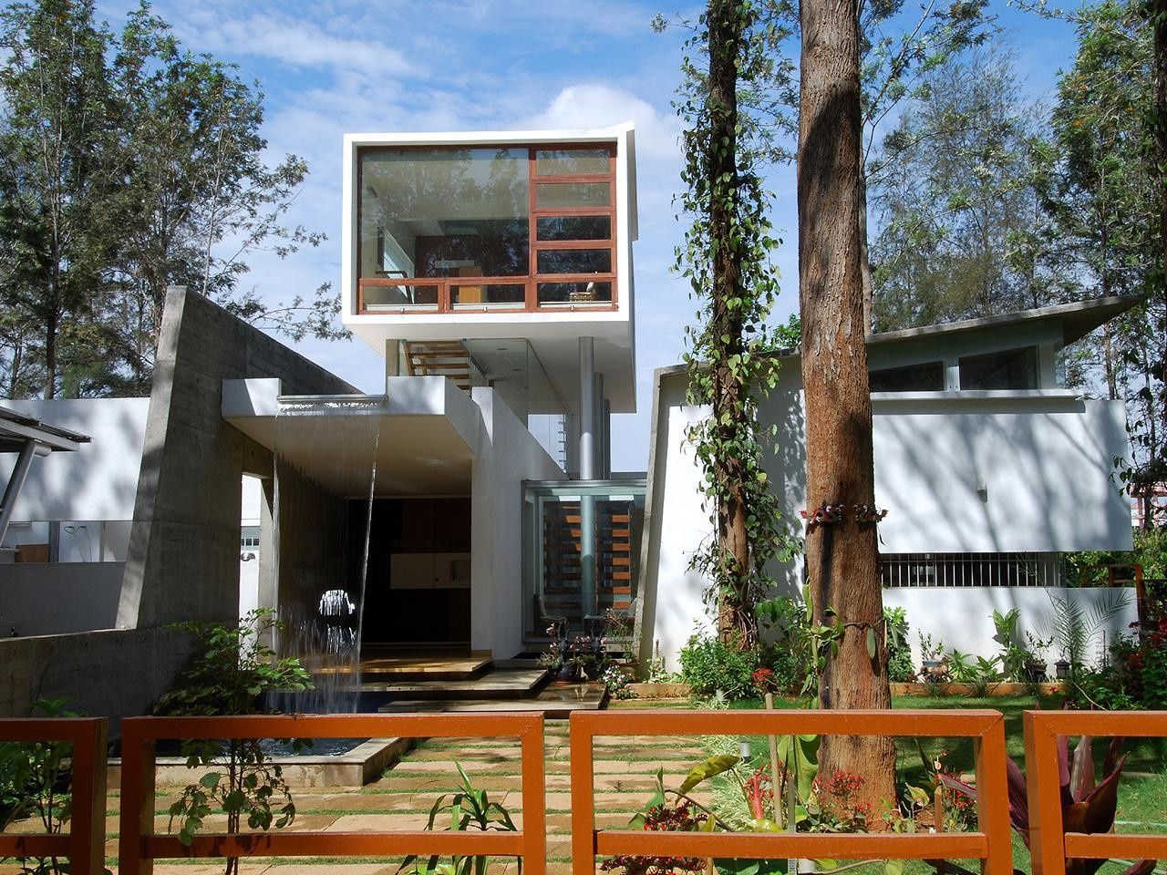House of Pavilions / Architecture Paradigm, Courtesy of  architecture paradigm