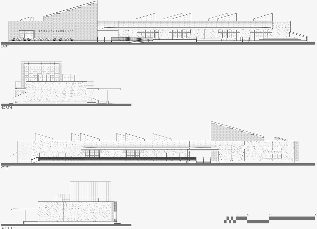 Architecture Elementary School gallery of barcelona elementary school / baker architecture +
