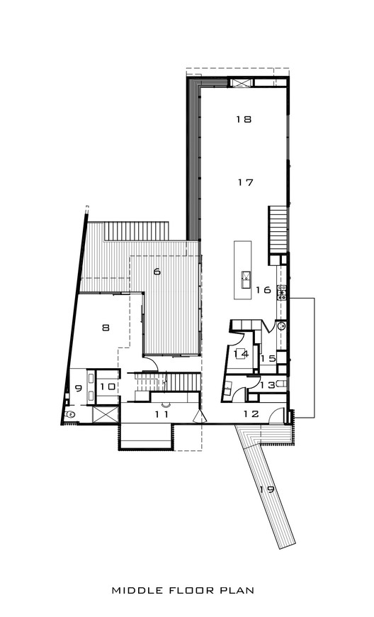 Middle Floor Plan