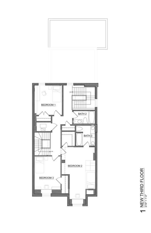 Lincoln park residence space architecture planning for Space architects and planners