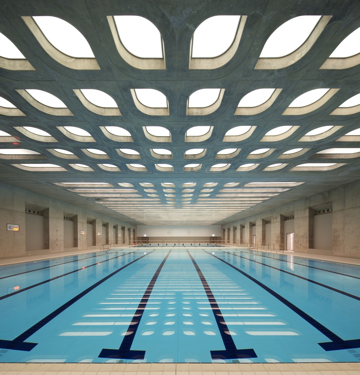 London Aquatics Centre For 2012 Summer Olympics Zaha Hadid Architects Archdaily
