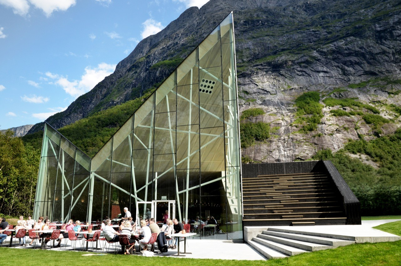 Trollwall Restaurant and Service / RRA, Courtesy of  reiulf ramstad arkitekter