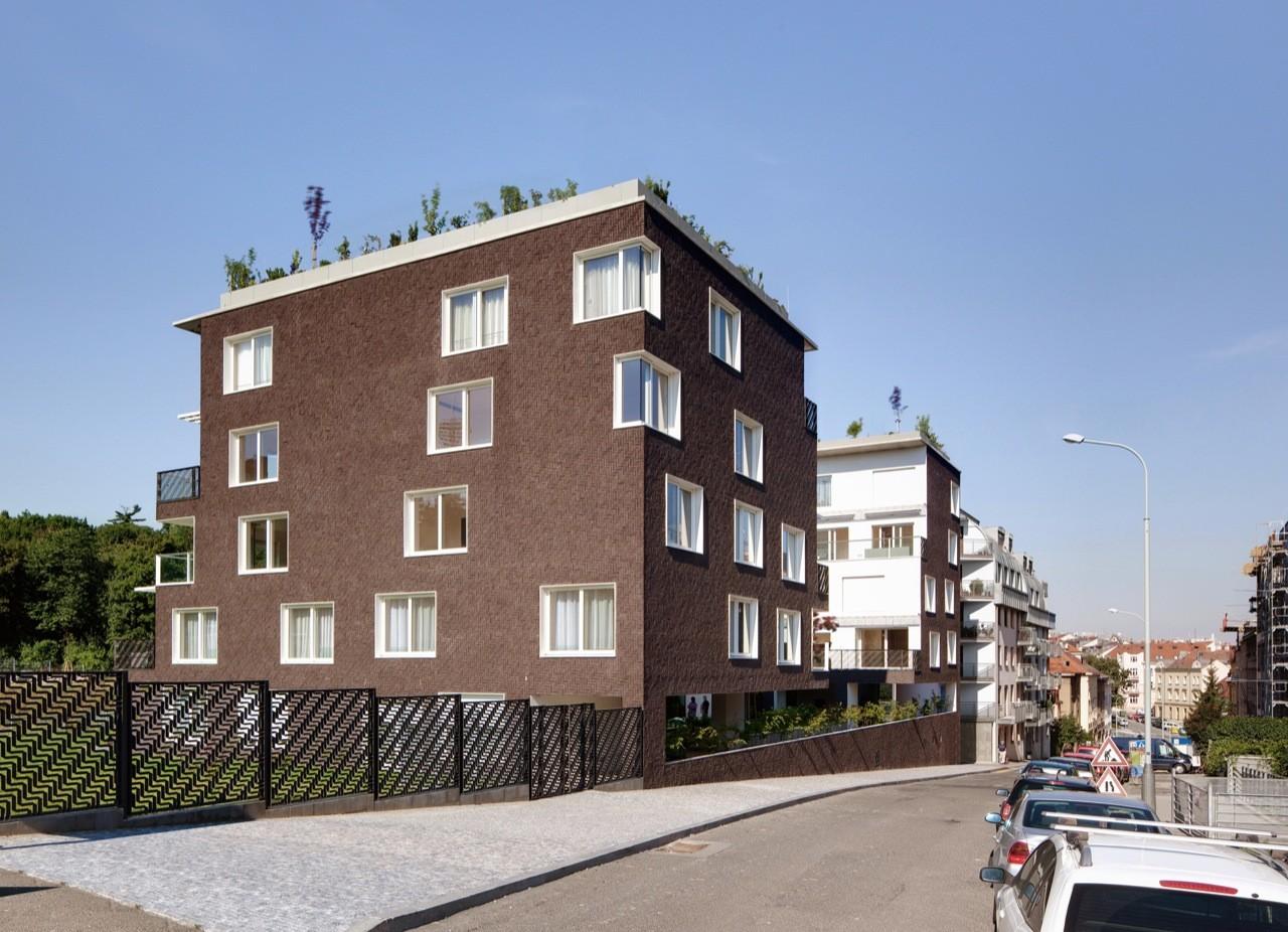 Block of Flats / Znameni Ctyr Architekti, Courtesy of  znameni ctyr architekti