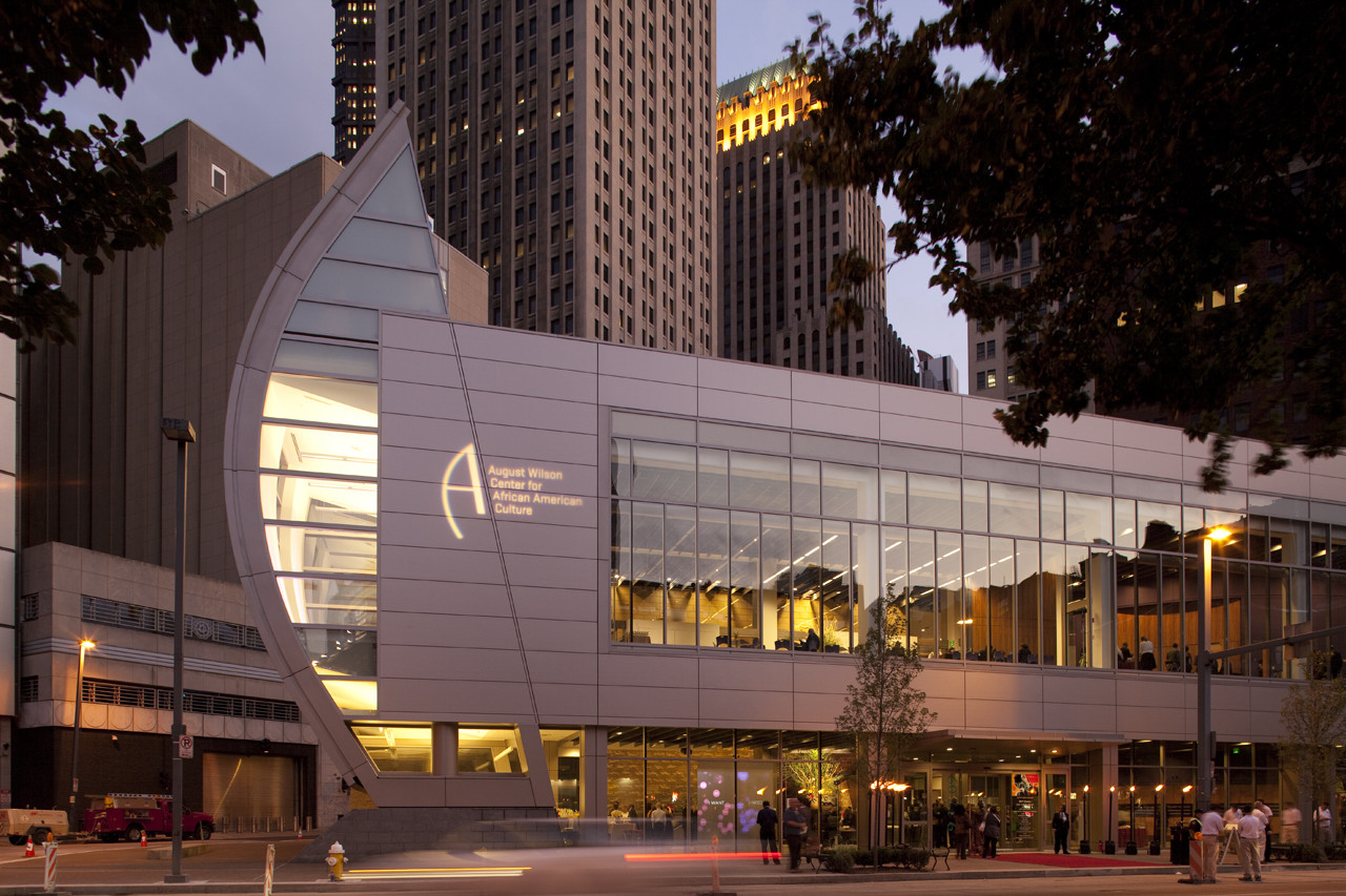 August Wilson Center for African American Culture / Perkins+Will, © Joshua Franzos Photography