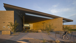 Cesar Chavez Library / Line and Space