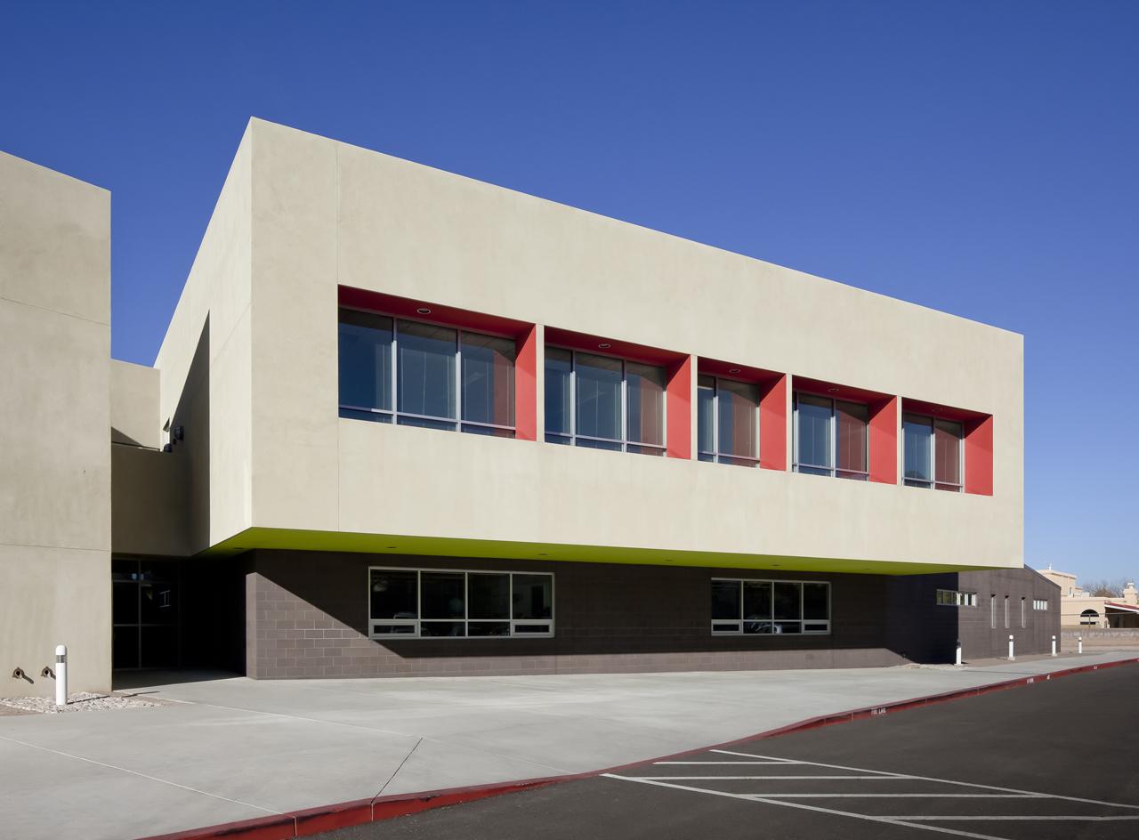 Architecture Elementary School gallery of georgia o'keeffe elementary school / jon anderson