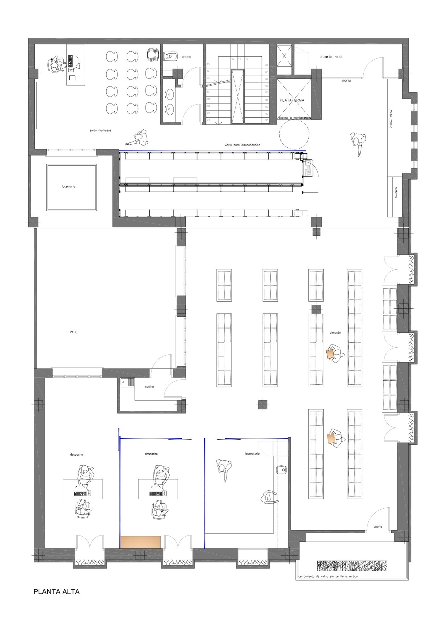 File Mad scientist bw besides New logo and identity for mit media lab by pentagram together with Kimbell Art Museum moreover 5015817428ba0d02f000161c Caparros And Reina Pharmacy Mobil M Floor Plan in addition Birch reduction. on laboratory building