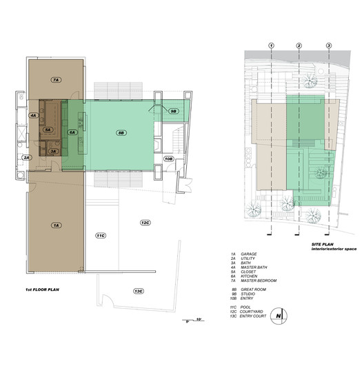 Ground Level Plan & Site Plan
