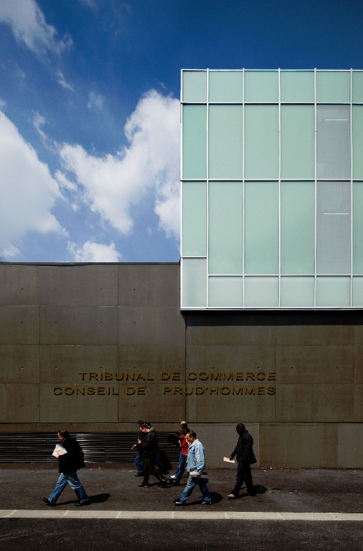 Tribunal de commerce & conseil de prud'hommes / 2/3/4/, © FS+SG Fernando GUERRA
