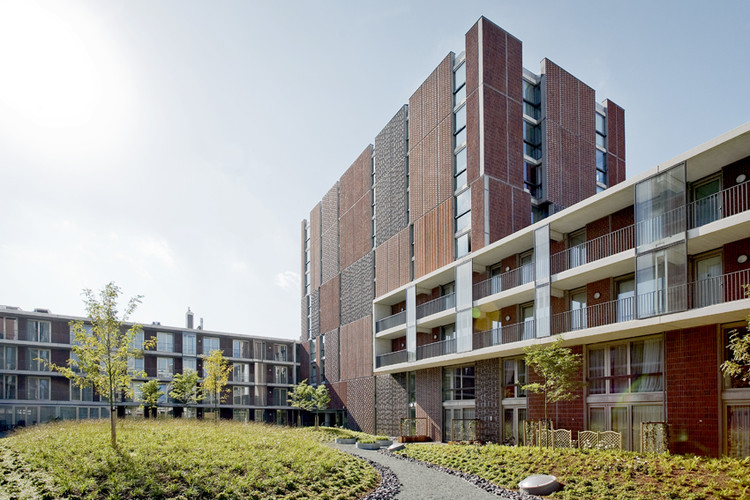 Block A Noordstrook / Dick van Gameren architecten, © Marcel van der Burg - Primabeeld