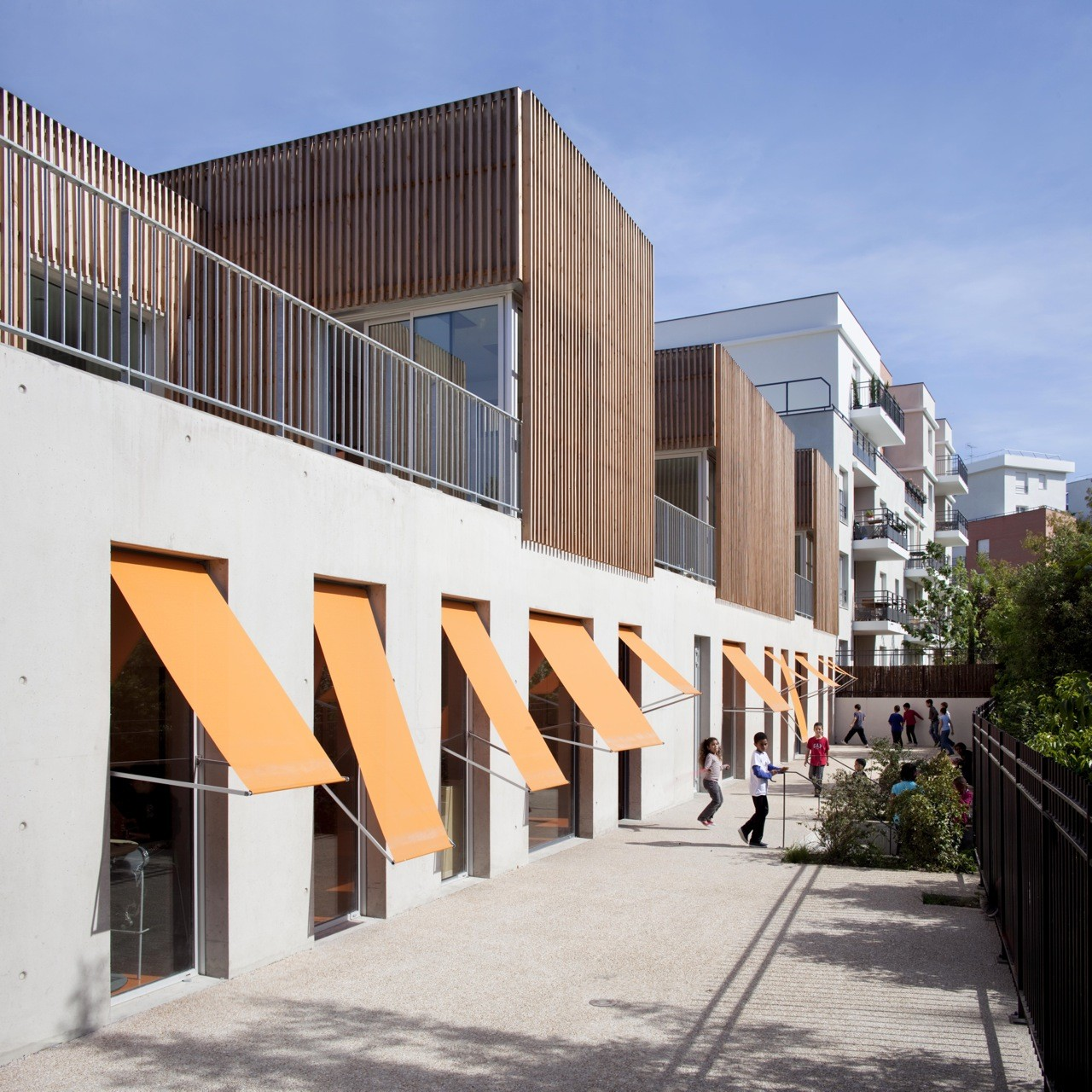 Gavroche Centre for Children / SOA Architectes, © Clément Guillaume