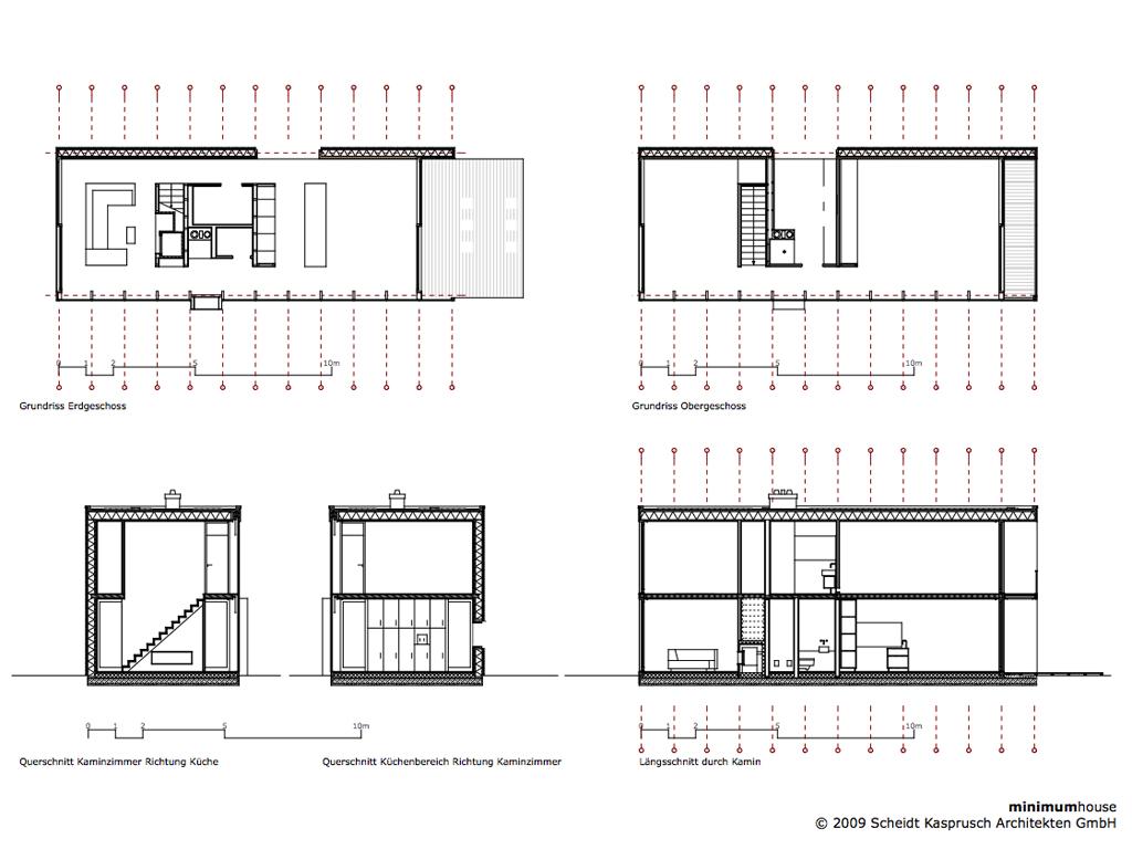 Gallery Of Minimum House Scheidt Kasprusch Architekten 16