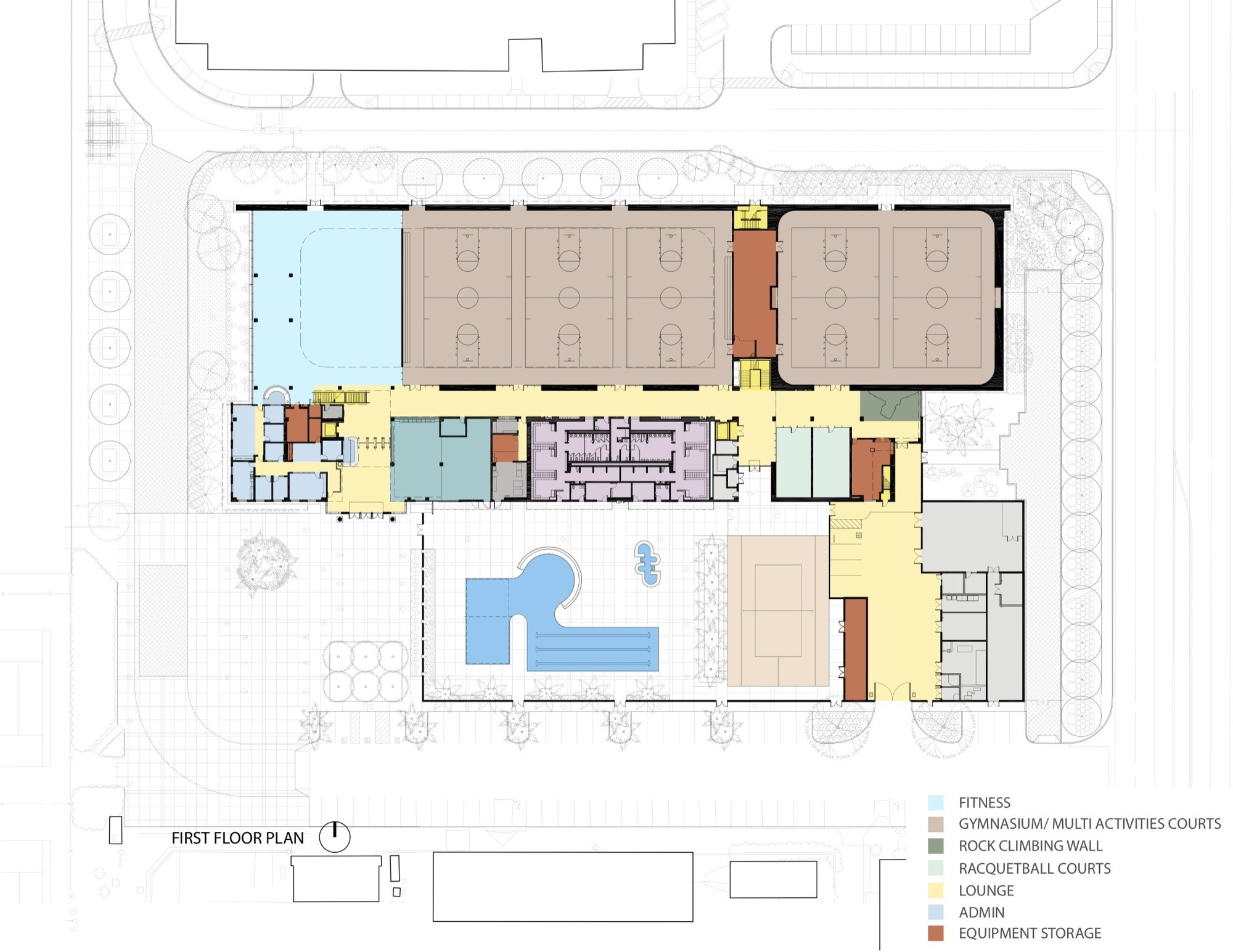 Gallery Of California State University Student Recreation Center Cannon Design 17