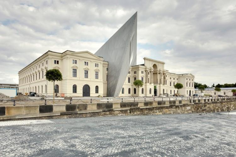 Dresden's Military History Museum / Studio Libeskind, © Bitter Bredt Courtesy of Holzer